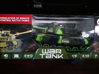Tanque De Guerra Grande Control Remoto 55cm Con Infrarrojo