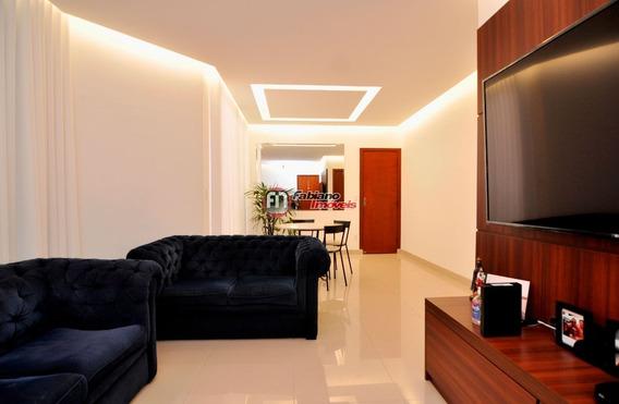 Apartamento 03 Quartos Com Varanda À Venda, Bairro Castelo, Belo Horizonte - Mg. - 5799