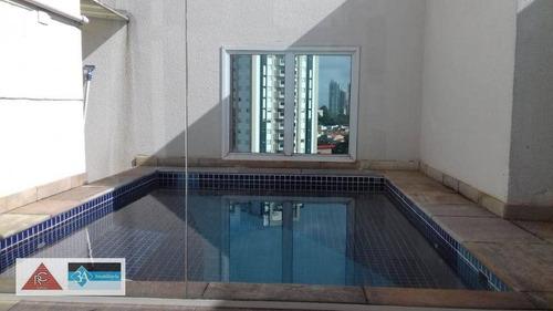 Imagem 1 de 30 de Cobertura Com 3 Dormitórios  - Tatuapé - São Paulo/sp - Co0336