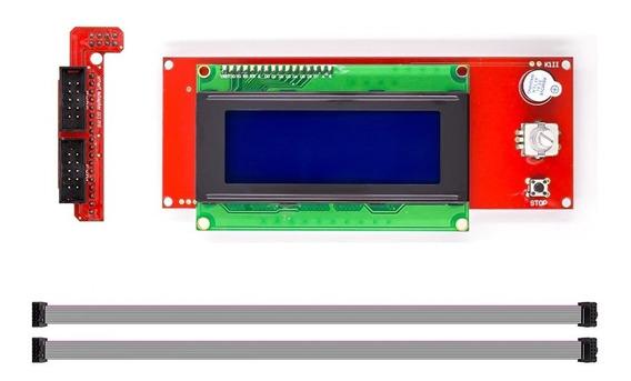 Display Controladora Lcd 2004 Impressora 3d