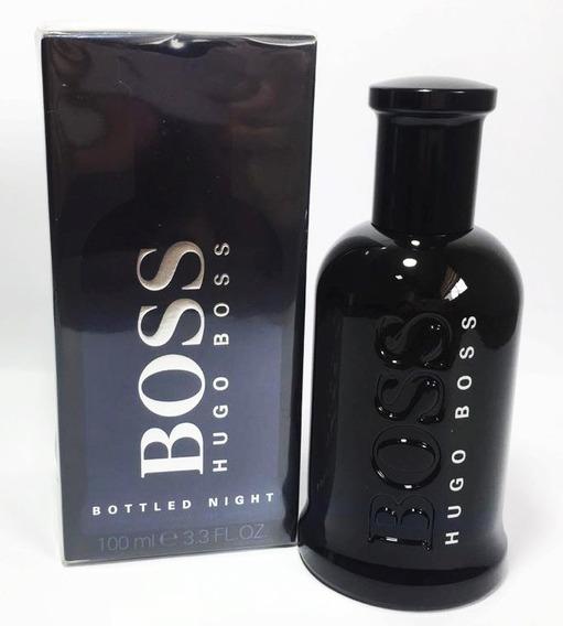 Perfume Hugo Boss Bottled Nigth 100ml - Original Lacrado