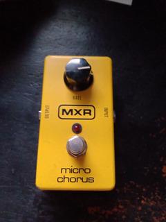Pedal Guitarra Micro Chorus Mxr
