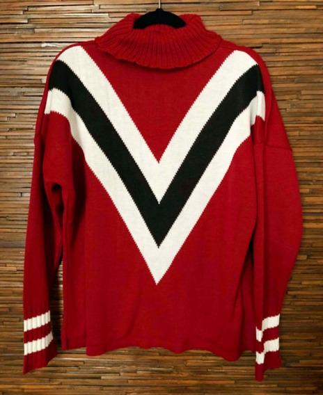 Blusa Colegial Tricolor