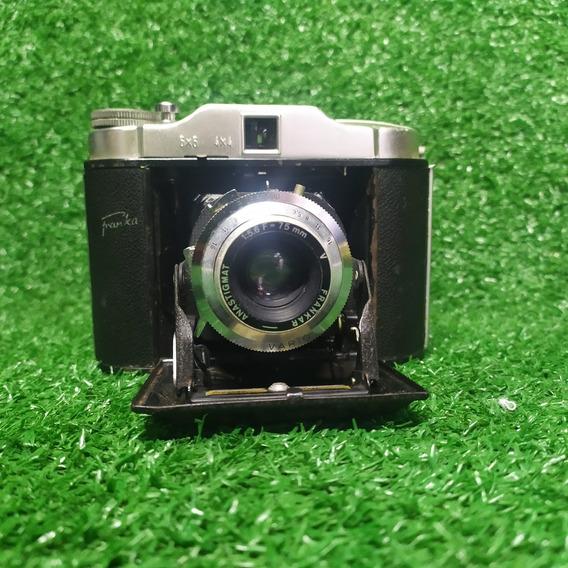 Máquina Fotográfica Frankar Sólida 1 De Fole Dobrável