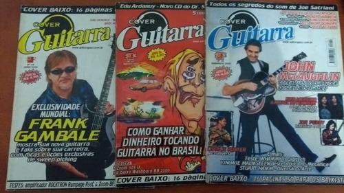 Revistas Cover Guitarra 68, 69 E 70