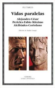 Imagen 1 de 3 de Vidas Paralelas, Plutarco, Cátedra