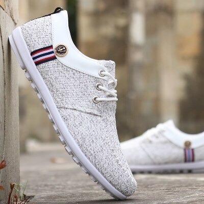 Sapatos Casuais De Lona Zapattos