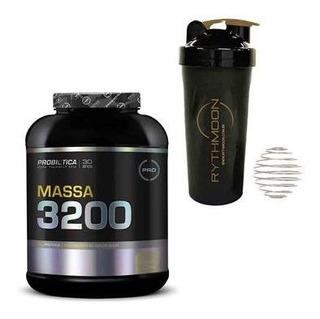 Kit Massa 3200 3kg + Coqueteleira 600ml C/mola