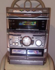 Aparelho De Som Sony Mhc Grx 800 Ligando Mas Não Sai Som