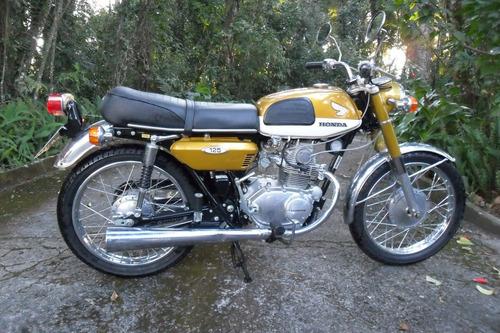 Honda Cb 125 K3  1971 - Somente Venda