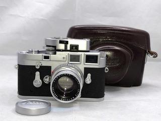Leica M3 Single Stroke Chrome + 1:2/50 Summicron, Grant P&h.