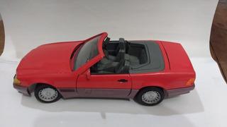 Mercedes Benz 500sl 1989 Miniatura 1/18 Usada