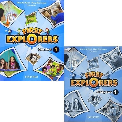 First Explorers 1 Class Book Y Activity Book - Oxford