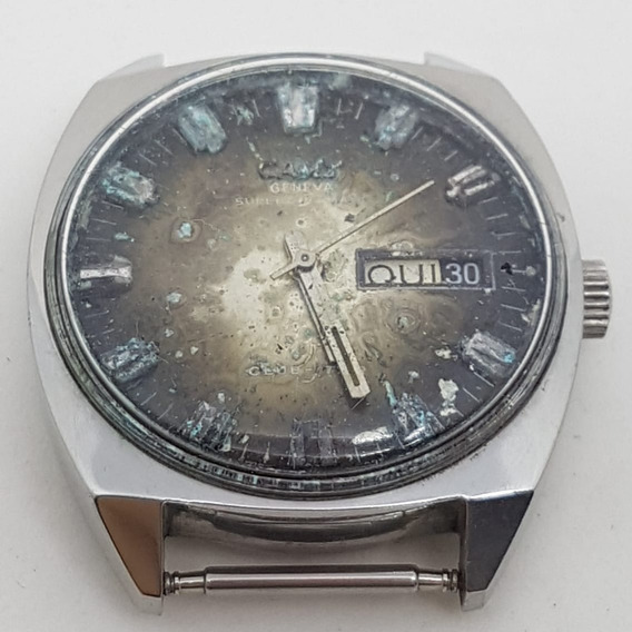 Relogio Vintage De Pulso Camy 7628 Swiss Made Automatic 36mm
