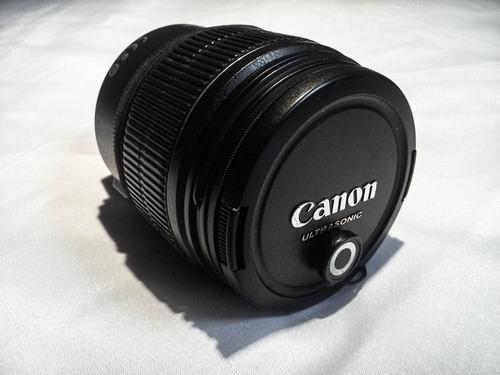 Lente Canon (zoom) 15-85mm + Filtros + Parasol