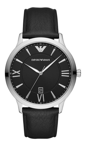 Relógio Masculino Emporio Armani Giovanni Prata - Original
