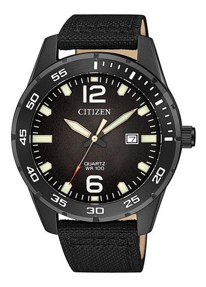 Reloj Hombre Citizen Bi1045-05e Deportivo Acero Con Nylon