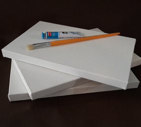 Telas Para Pintura (kit 6 Peças Tamanhos Diferentes )