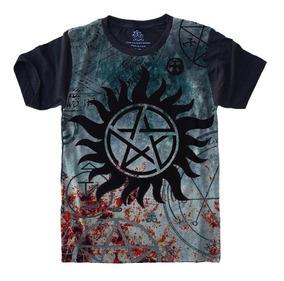Camiseta Série - Supernatural - Pentagrama