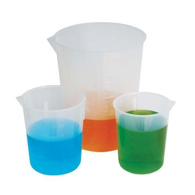 Vaso De Precipitado 500 Ml Polipropileno Plastico