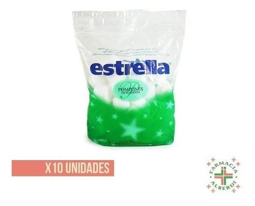 Estrella Pompones Algodon X 50 X 10 Unidades
