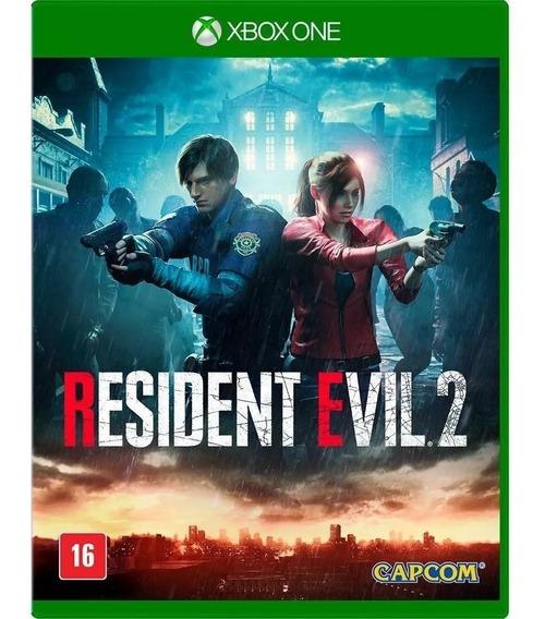 Resident Evil 2 Remake - Xbox One Midia Fisica Lacrado