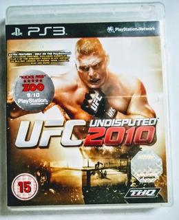 Playstation 3 - Ufc 2010 - Original