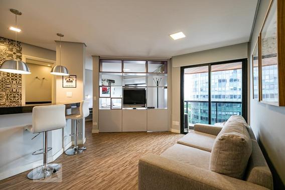 Apartamento Para Aluguel - Itaim Bibi, 1 Quarto, 42 - 893040327