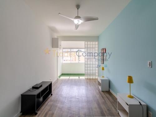 Imagem 1 de 23 de Apartamento Com 1 Quarto E 1 Banheiro Para Locação E Venda Área Útil 35m² - Ap01472