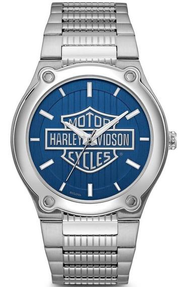 Reloj Harley Davidson Original Para Hombre By Bulova 76a159
