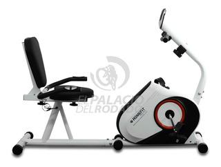 Bicicleta Fija Horizontal Homefit Magnética Recumbent