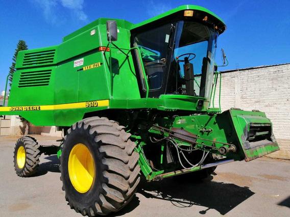 Trilladora John Deere 9510 ; Trilladora Agricola