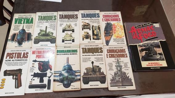 Lote De Livros De Armas Granadas Guia De Armas Militares