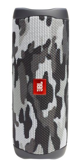 Caixa de som JBL Flip 5 portátil sem fio Black camo