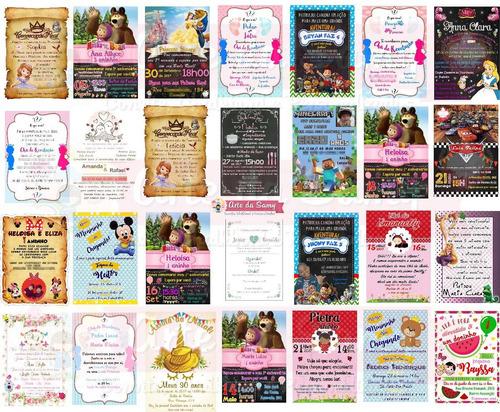Imagem 1 de 3 de Convite Digital Para Enviar Por Whats, Facebook E Email