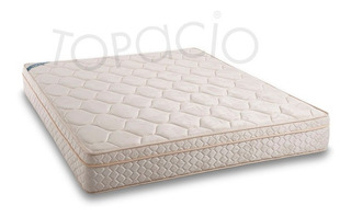 Colchon Topacio Marfil Pillow 30kl Para 100kl 190x160x025