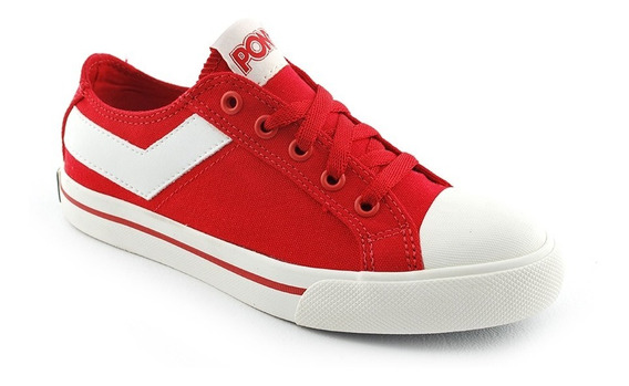 Zapatilla Urban Lona Shoote Pony Red Unisex