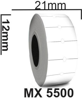 30 Rolos Etiqueta Mx 5500 Com 30.000 Etiquetas