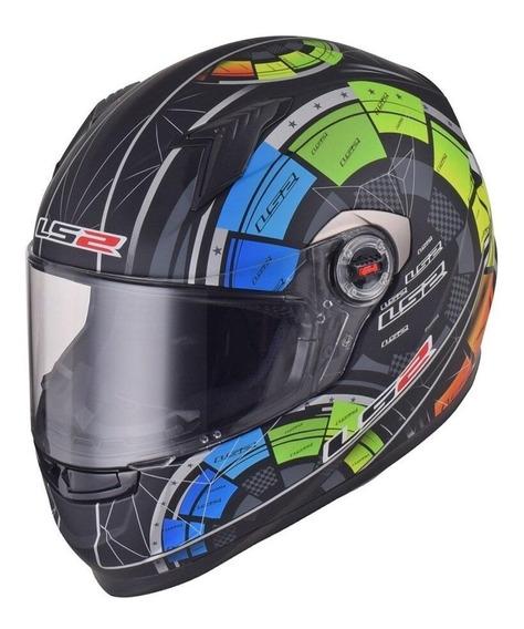 Capacete para moto integral LS2 Helmets Tech black tamanho L
