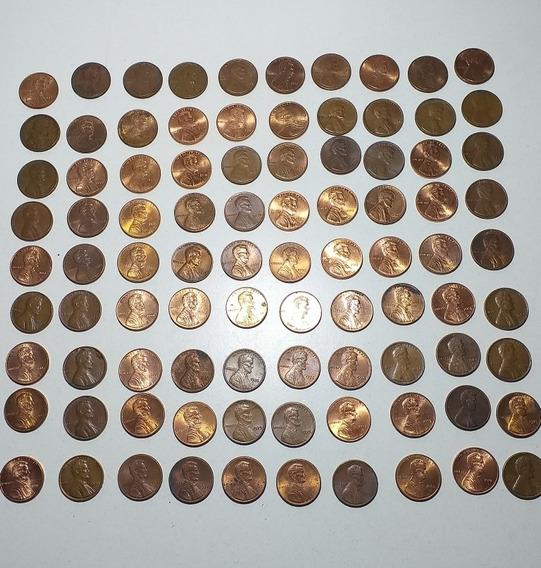 Monedas De 1 Centavo De Dolar A Elegir, Varios Años