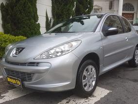 Peugeot 207 1.4 Xr Flex 3p 2013 Prata Completo