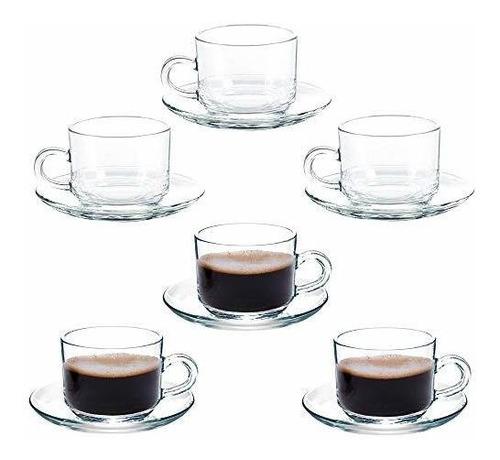 Taza De Café De Cristal, Tazas De Capuchino, Tazas De Café,