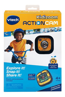 Vtech Kidizoom Action Cam, Con Carcasa Sumergible. Infantil.