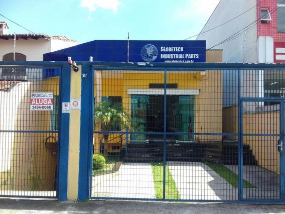 Ponto Comercial 376 M² Para Locação, Alto Do Ipiranga - Mogi Das Cruzes - 495