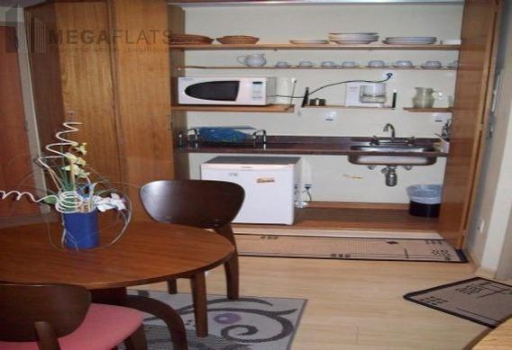 01832 - Flat 1 Dorm, Brooklin Novo - São Paulo/sp - 1832