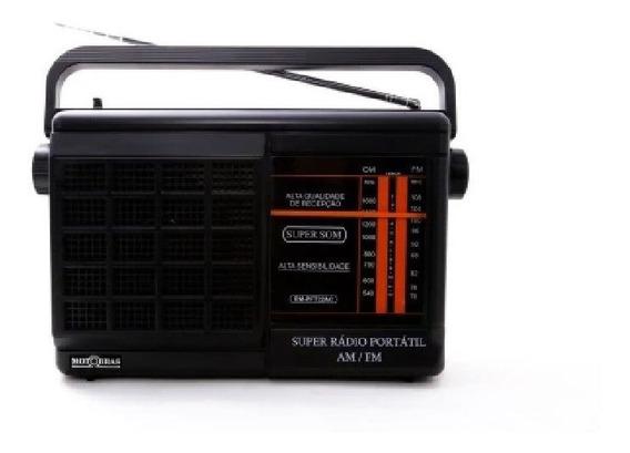 Rádio Portátil Motobrás 2 Faixas Rm Pft 22ac