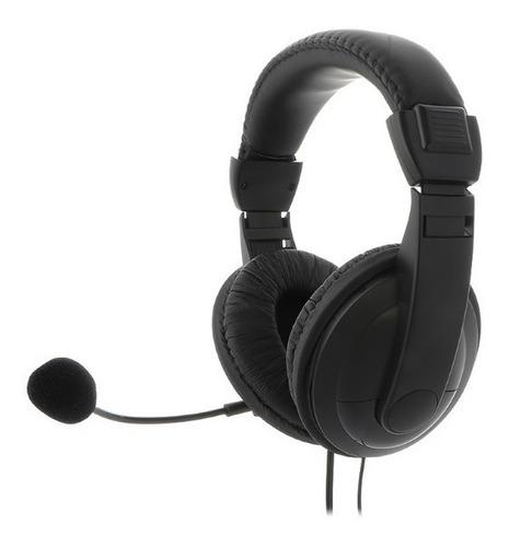 Audífonos Estéreo Ksh-301 Auriculares Con Microfono Para Pc