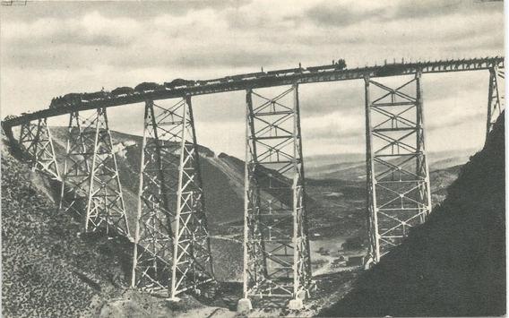 Antigua Postal Salta, Ferrocarriles, Viaducto Polvorilla