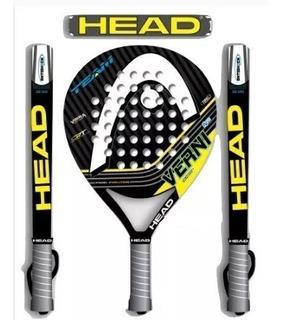 Paleta Padel Head Pro Verni N2 Hibrida Eva Foam Hectortenis