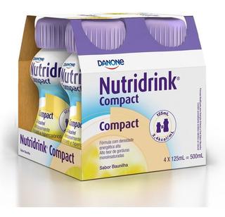 Nutridrink Compact Sabor Baunilha C/ 4 Garrafinhas De 125ml